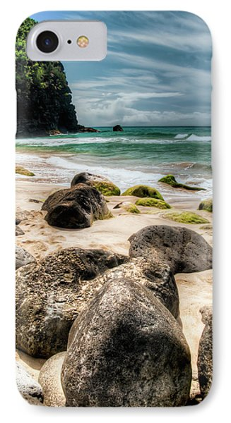 Hanakapi'ai Beach IPhone Case by Natasha Bishop