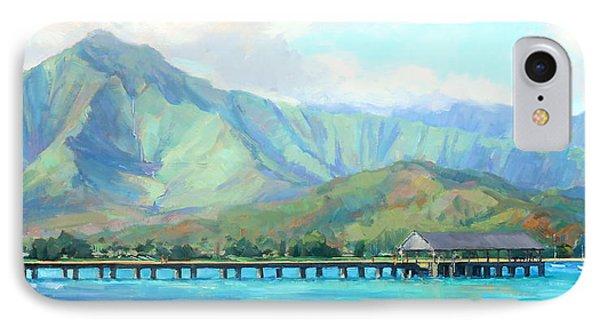 Hanalei Pier IPhone Case by Jenifer Prince
