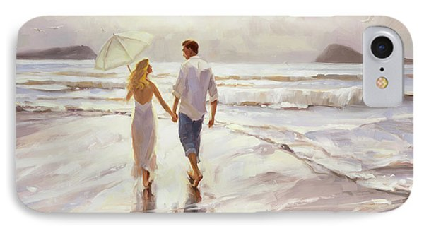 Men iPhone 7 Case - Hand In Hand by Steve Henderson