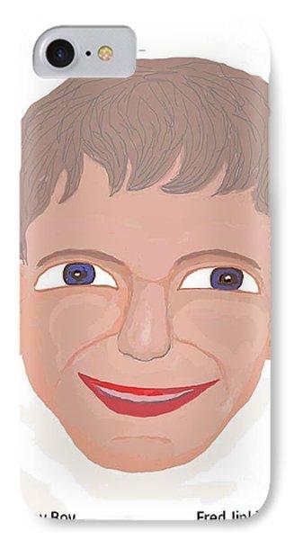 Happy Boy Phone Case by Fred Jinkins