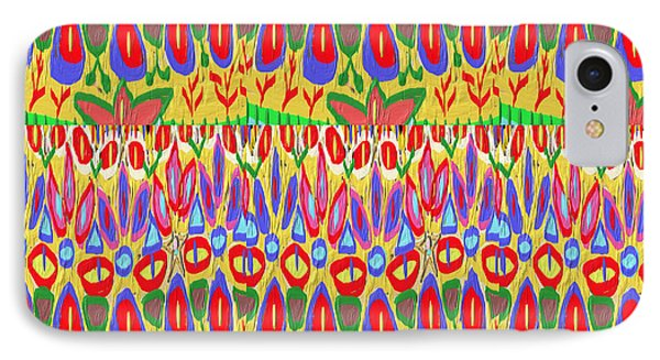 Happy Celebrations Abstract Acrylic Painting Fineart From Navinjoshi At Fineartamerica.com These Gra IPhone Case by Navin Joshi