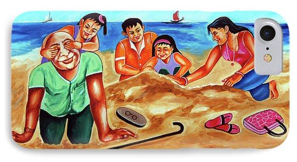Happy Family IPhone Case by Ragunath Venkatraman