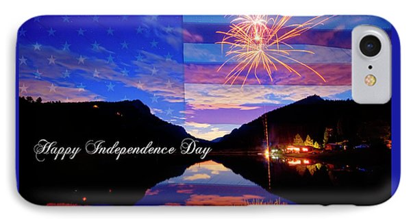 Happy Independence Day IPhone Case by James BO Insogna