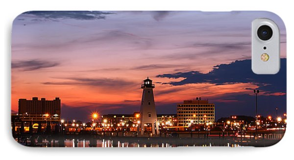 Harbor Lights IPhone Case by Brian Wright
