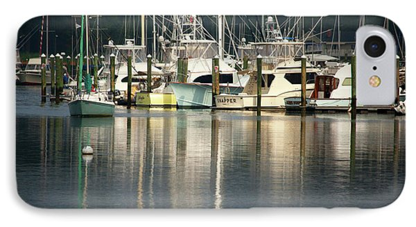 Harbor Reflections IPhone Case