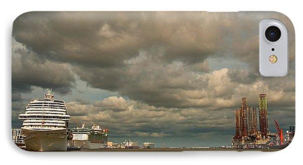 Harbor Storm IPhone Case