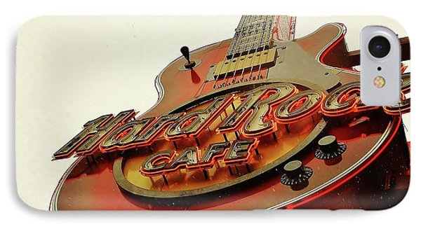 IPhone Case featuring the photograph Hard Rock Cafe' by Al Fritz