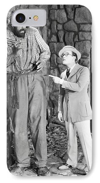 Harold Lloyd (1889-1971) Phone Case by Granger