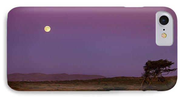 Harvest Moon Over Bodega Bay IPhone Case