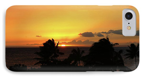 IPhone Case featuring the photograph Hawaiian Sunset by Anthony Jones