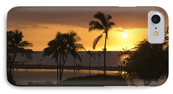 Hawaiian Sunset IPhone Case by Loriannah Hespe