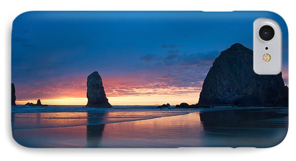 Haystack Rock IPhone Case by Jerry Cahill