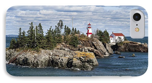 Head Harbour Lighthouse IPhone Case by John Greim