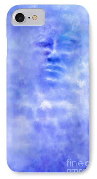 IPhone Case featuring the digital art Head In The Clouds by Holly Ethan