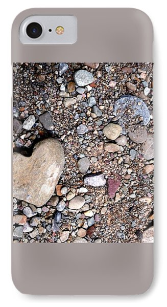 Heart Of Stone IPhone Case by Danielle R T Haney