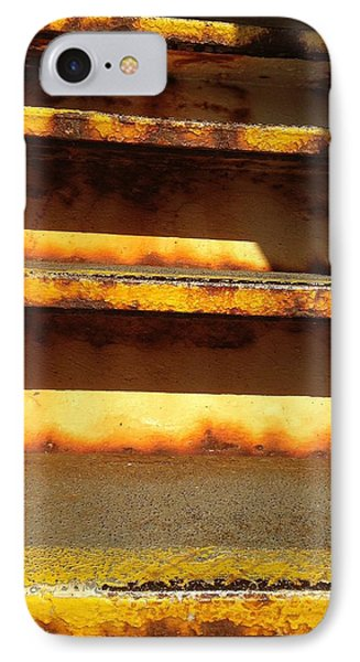 IPhone Case featuring the photograph Heavy Metal by Olivier Calas