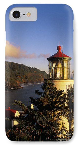 Heceta Head Lighthouse Phone Case by Greg Vaughn - Printscapes