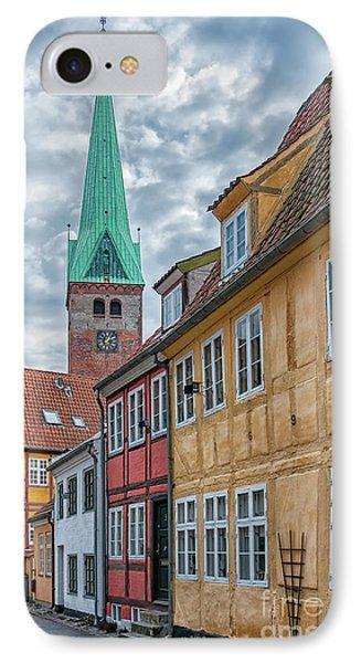 IPhone Case featuring the photograph Helsingor Narrow Street by Antony McAulay