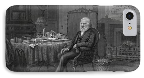 Henry Wadsworth Longfellow Phone Case by Granger