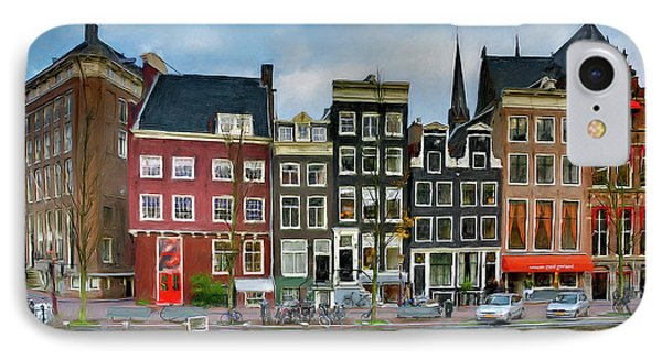 IPhone Case featuring the photograph Herengracht 411. Amsterdam by Juan Carlos Ferro Duque