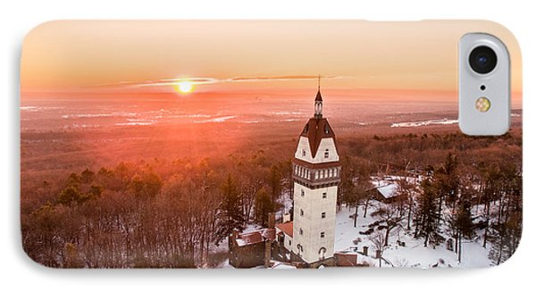 IPhone Case featuring the photograph Heublein Tower In Simsbury, Connecticut by Petr Hejl