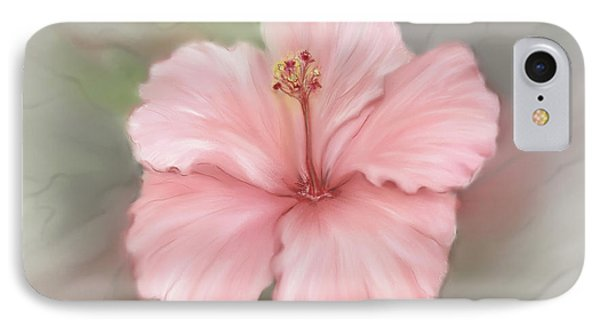 IPhone Case featuring the painting Hibiscus  by Bonnie Willis