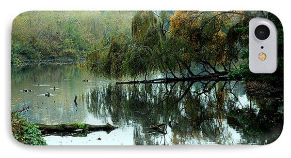 Hidden Lake IPhone Case by Kathleen Grace