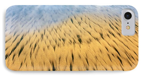 High Angle View Of Waves Create IPhone Case