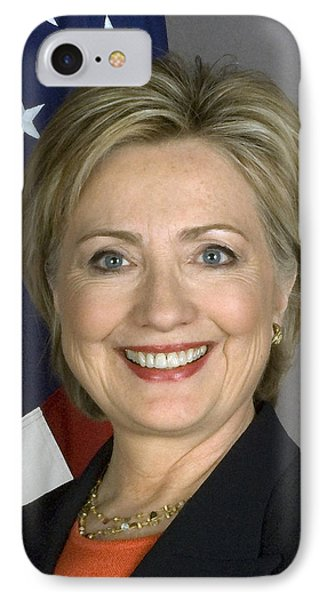 Hillary Clinton IPhone Case by War Is Hell Store