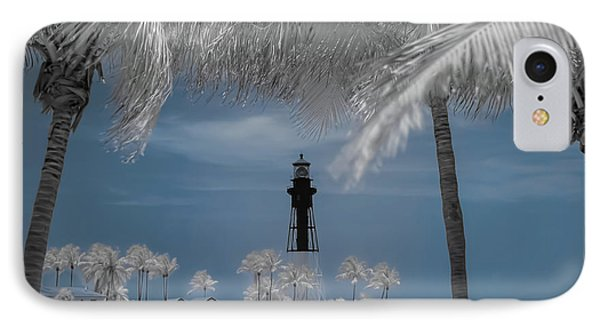 IPhone Case featuring the photograph Hillsboro Inlet Lighthouse by Louis Ferreira