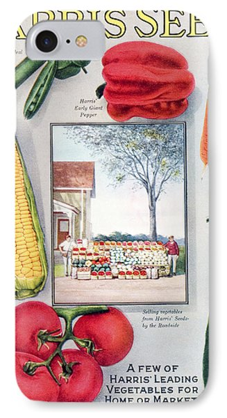 Historic Harris Seeds Catalog IPhone Case by Remsberg Inc