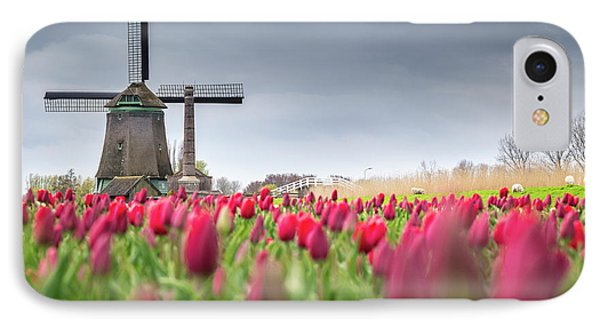 Holland Windmill IPhone Case
