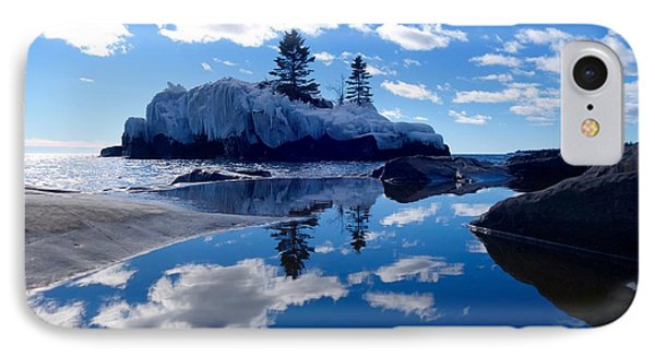 Hollow Rock Reflections IPhone Case by Sandra Updyke