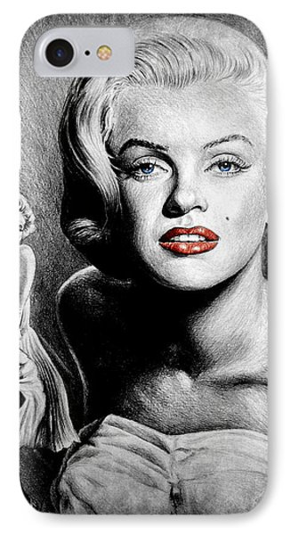 Hollywood Greats Marilyn IPhone Case