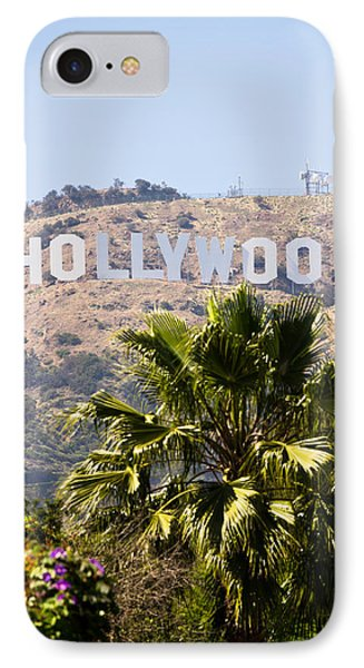 Hollywood Sign Photo IPhone 7 Case by Paul Velgos