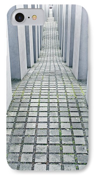 Holocaust Memorial IPhone Case by Tom Gowanlock