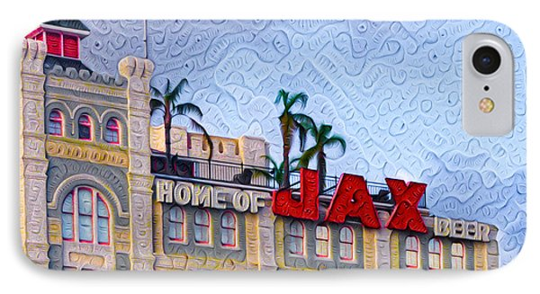Home Of Jax Beer IPhone Case
