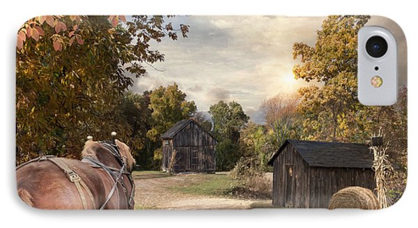 IPhone Case featuring the photograph Homeward Bound by Robin-Lee Vieira