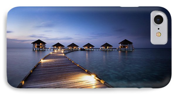 IPhone Case featuring the photograph Honeymooners Paradise by Hannes Cmarits