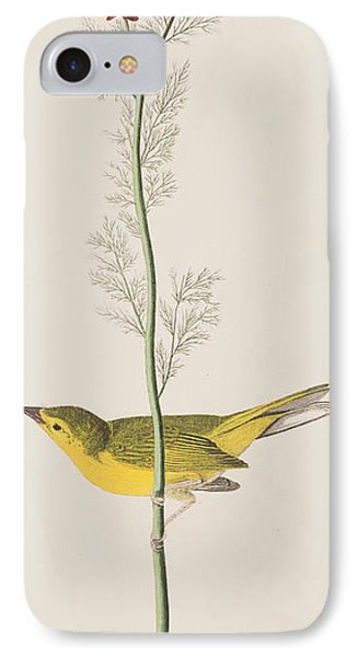 Hooded Warbler IPhone 7 Case by John James Audubon