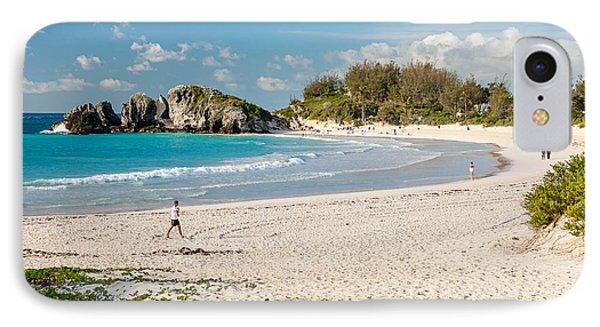 Horseshoe Bay In Bermuda IPhone Case