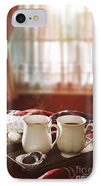 Hot Chocolate Drinks IPhone Case by Amanda Elwell