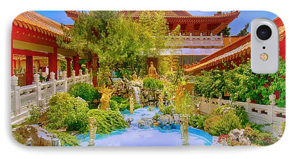 Hsi Lai Temple IPhone Case by Joseph Hollingsworth