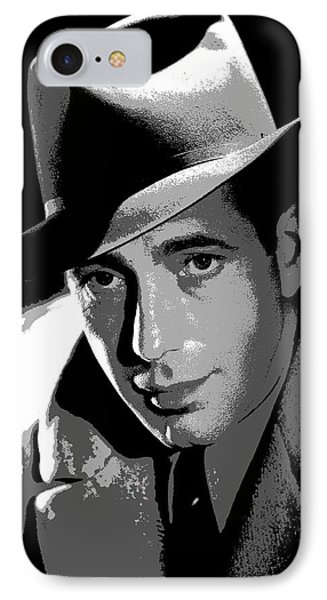 Humphrey Bogart IPhone Case by Charles Shoup