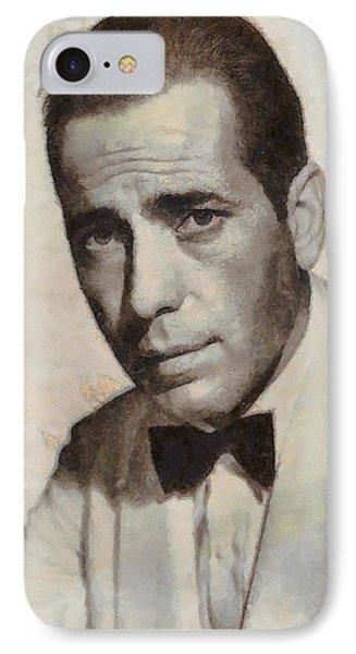 Humphrey Bogart Vintage Hollywood Actor IPhone Case