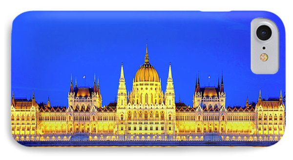 IPhone Case featuring the photograph Hungarian Parliament Building by Fabrizio Troiani