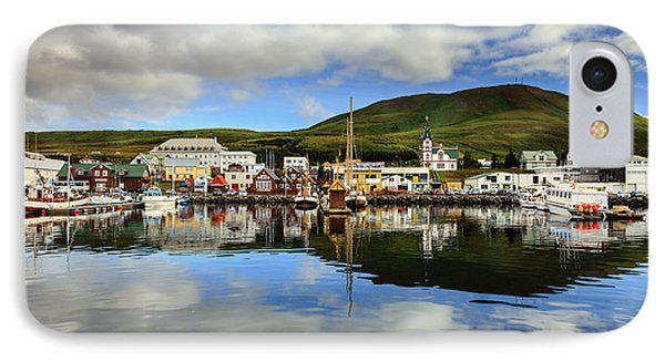 Husavik Harbor IPhone Case by Alexey Stiop