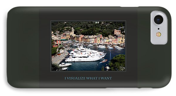 I Visualize What I Want Phone Case by Donna Corless