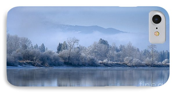 Icy Blue Phone Case by Idaho Scenic Images Linda Lantzy