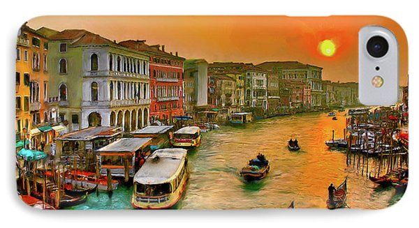 IPhone Case featuring the photograph Imbarcando. Venezia by Juan Carlos Ferro Duque